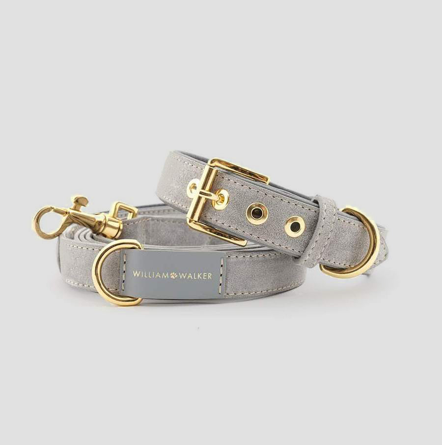 William Walker City Dog Leash - Sea Salt