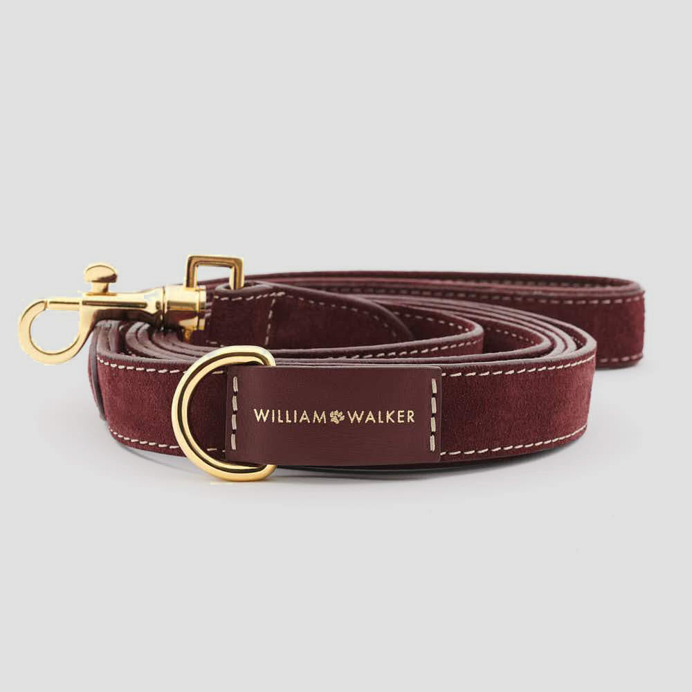 William Walker City Dog Leash - Lambrusco