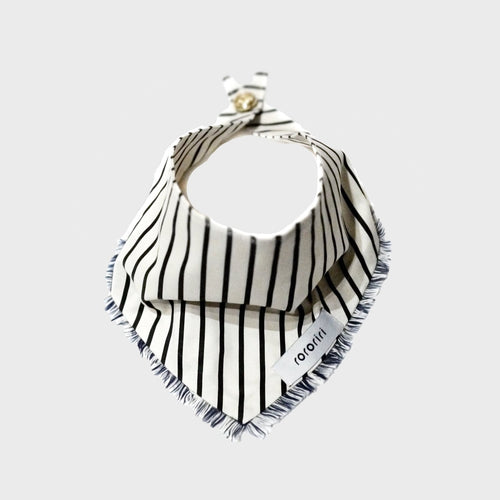 stripe dog bandana