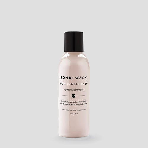 bondi wash 125ml luxury dog grooming conditioner with natural oils