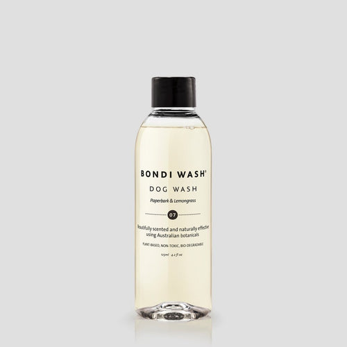 bondi wash 125ml luxury dog grooming shampoo with natural ingredients