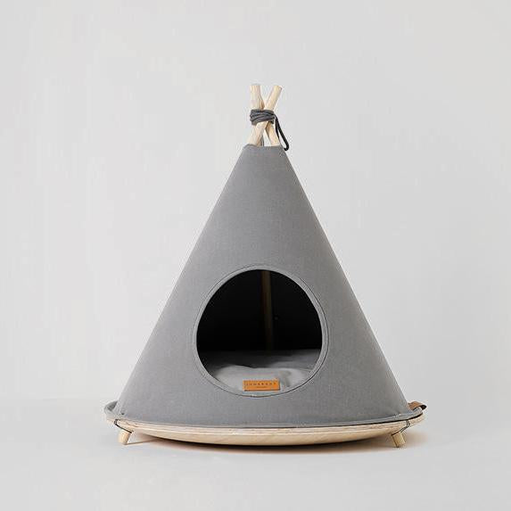 Pets So Good Choco Dog Tent Grey