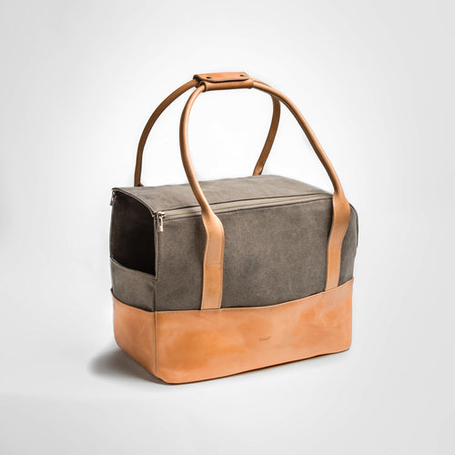 Cloud7 Roma Canvas Leather Dog Carrier
