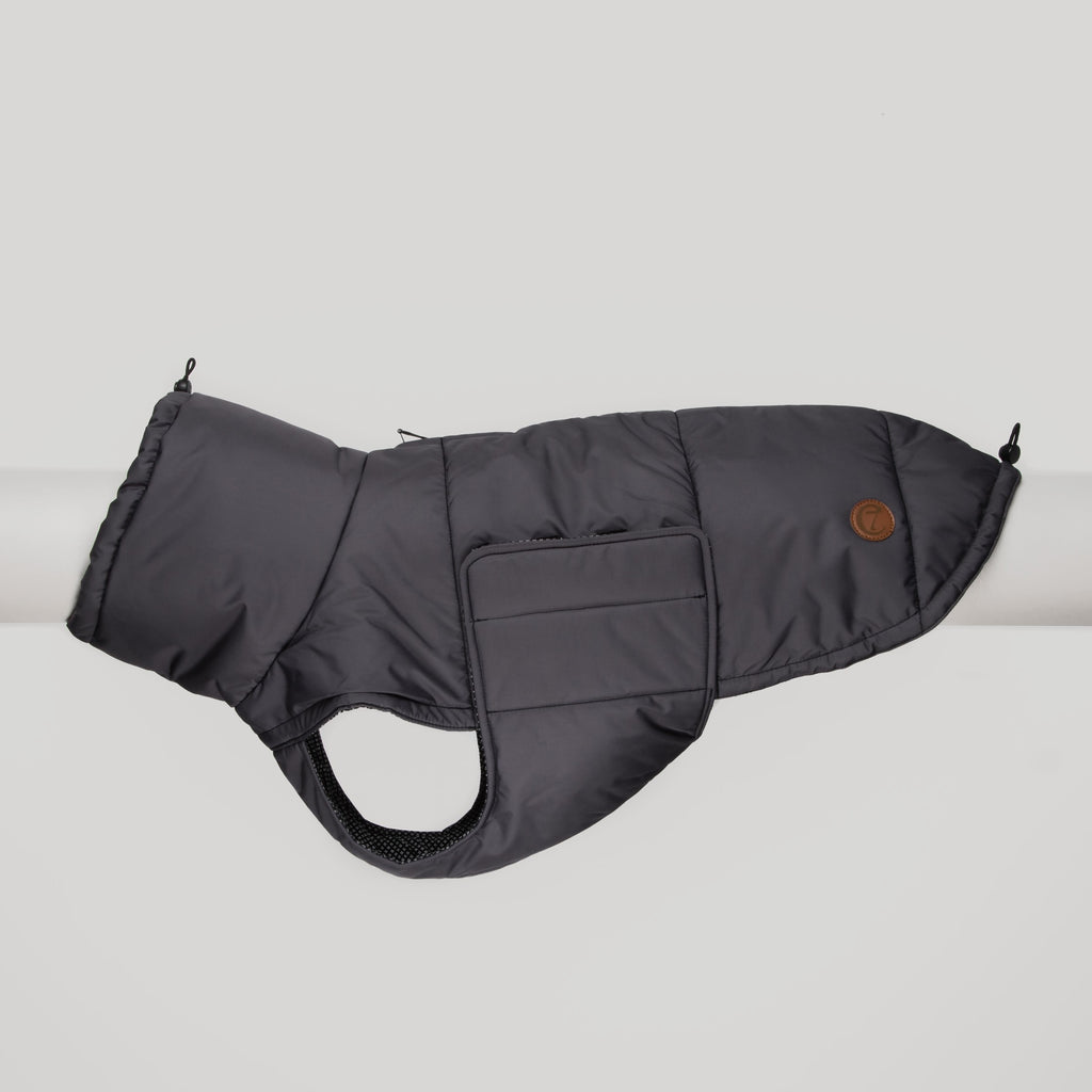 Cloud7 Yukon Stone Grey Dog Coat