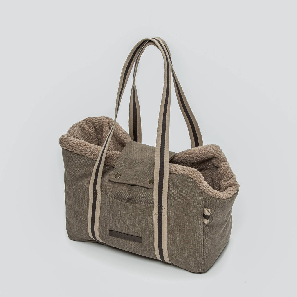 Cloud7 Lucca Canvas Sand Dog Carrier