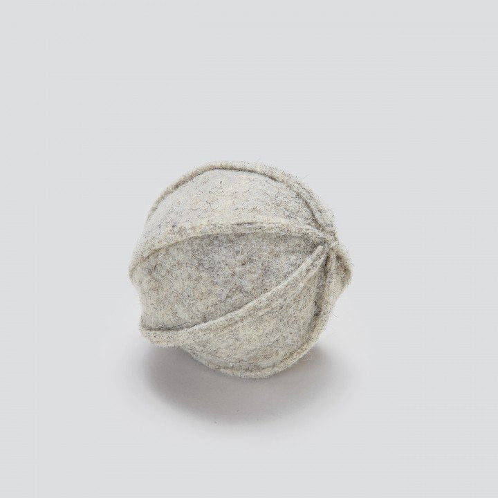 Cloud7 Felt Ball Dog Toy Grey