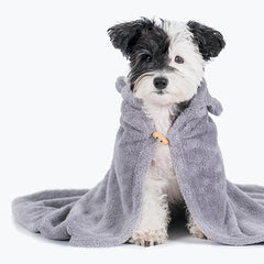 cute cat dog towel