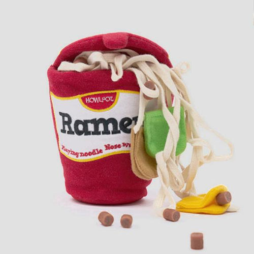 Pets So Good Ramen Nose Work Dog Toy