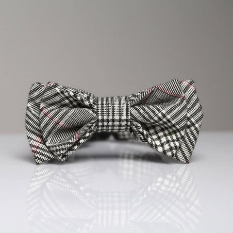 Max Bone Rose Dog Bow Tie Collar