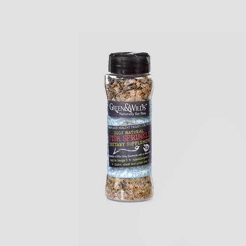 Green & Wilds Fish sprinkle Dietary Dog Supplement