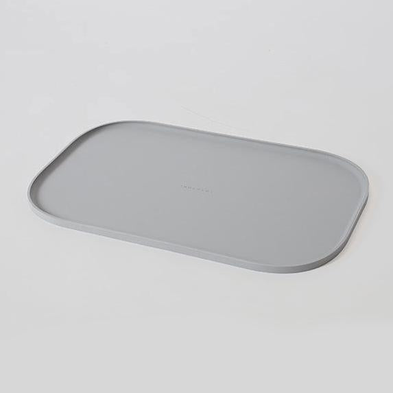 grey food mat for dogs