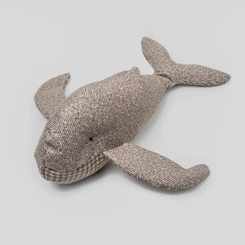 Cloud7 Whale Holly Fishbone Dog Toy