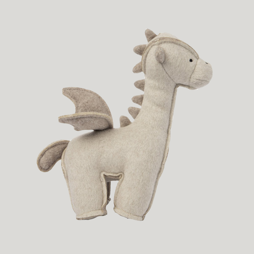 Max Bone Dragon Plush Dog Toy