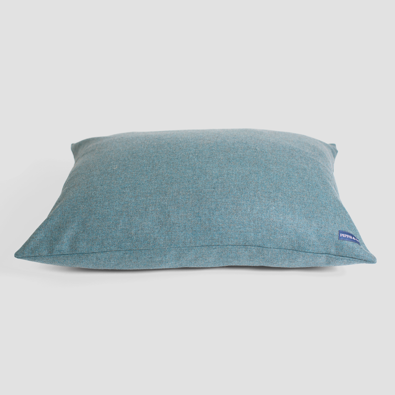 Pippa & Co Luxury Dog Pillow Bed - Aqua