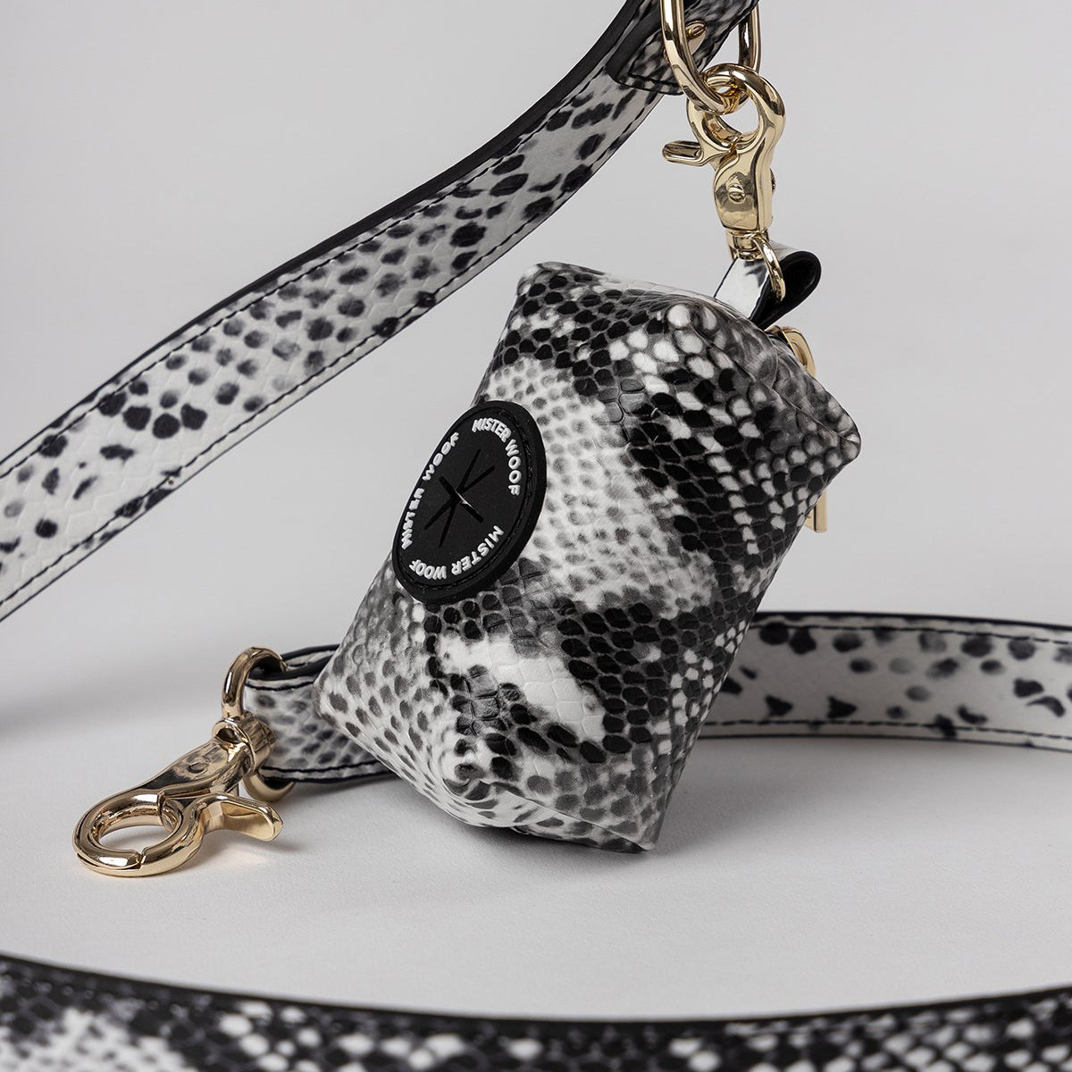 snakeskin dog accessories