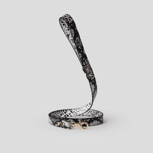 snakeskin dog lead