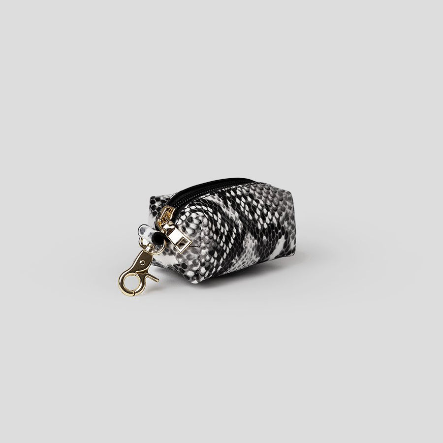 snakeskin poop bag dispenser