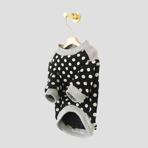 polkadot dog jumper