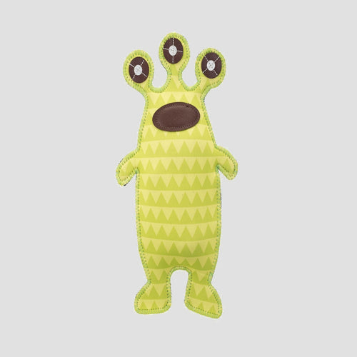 Jax & Bones Xander The Green Alien Dog Toy
