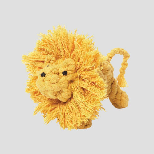 Jax & Bones Larry The Lion Rope Dog Toy