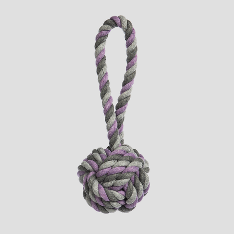 Jax & Bones Pineapple Rope Dog Toy
