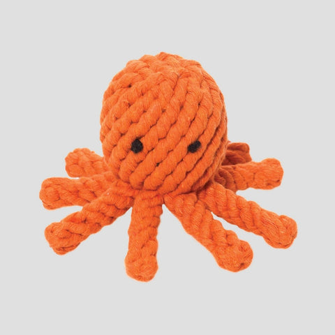 Jax & Bones Sid The Squid Rope Dog Toy