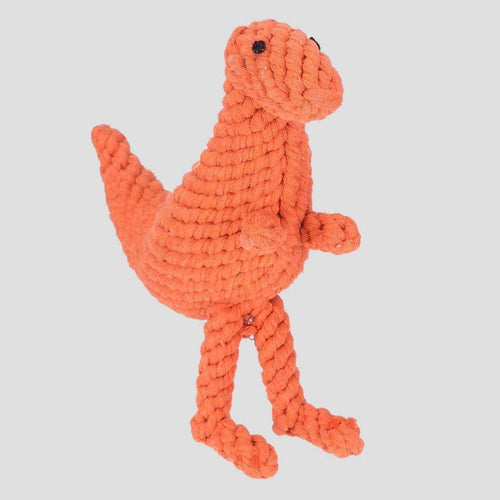 Jax & Bones Tyson The T-Rex Rope Dog Toy