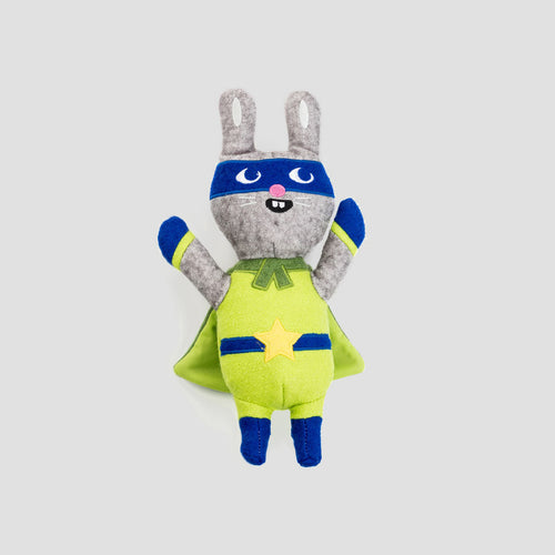 Jax & Bones Jump Jax Rabbit Dog Toy