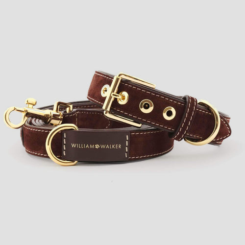 William Walker Leather Dog Leash - Makassar