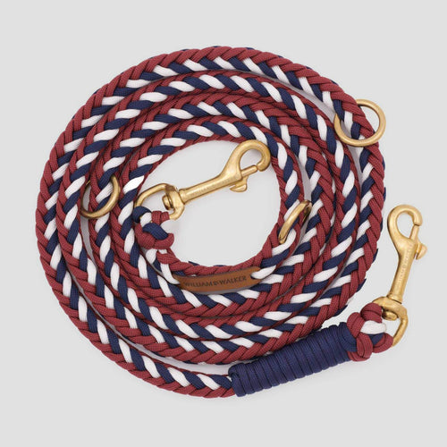 William Walker Dog Leash - Royal