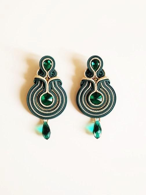Emerald Earrings - Italian Treasures
