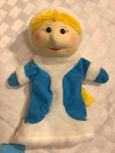 Ukrainian puppet - Winter girl puppet