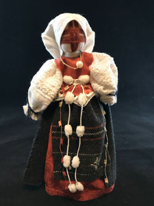 Traditional Ukrainian hand crafted motanka doll