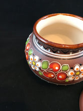 Petite hand-crafted jar with lid