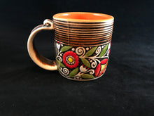 Handcrafted tea coffee cups