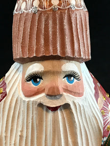 Grandfather Frost/wood carving