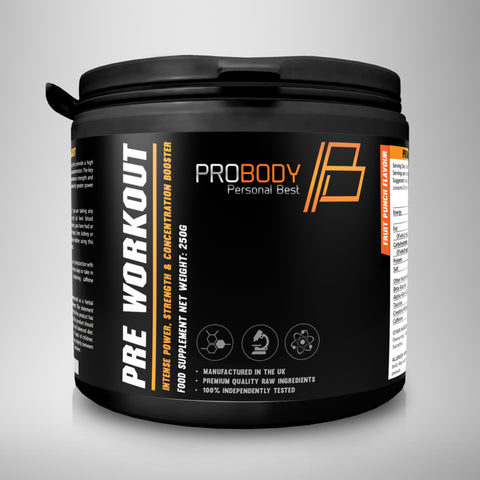 Pre Workout | Fruit Punch Flavour