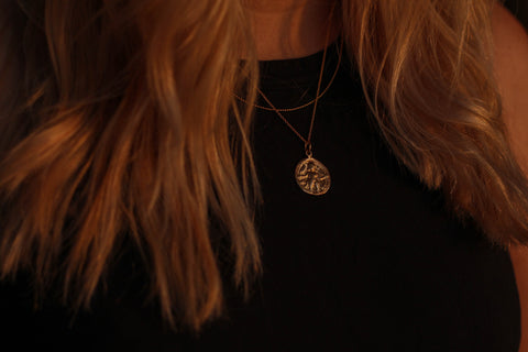 Goddess Coin Necklace