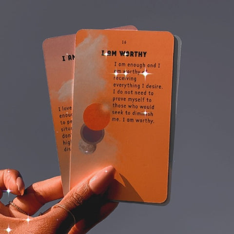 I AM & CO affirmation cards