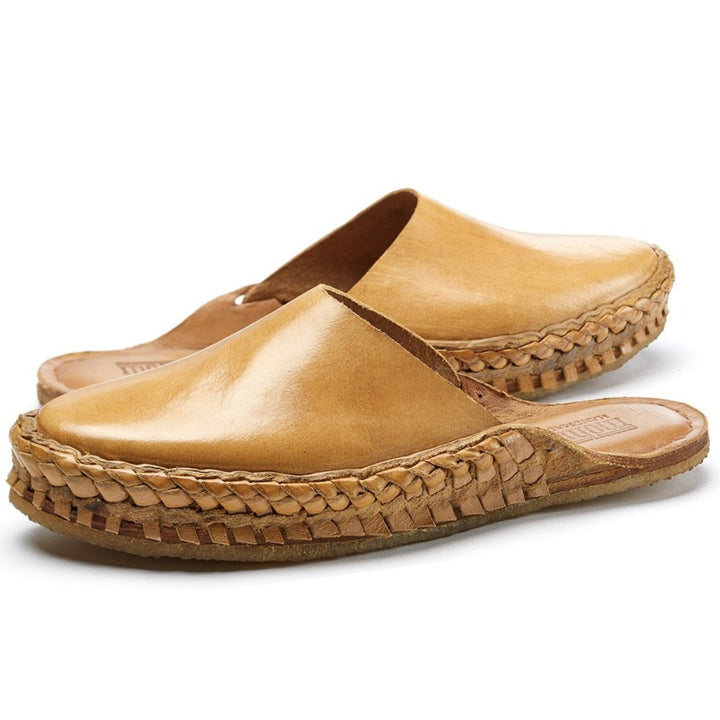 Women's City Slipper- Solid Leather