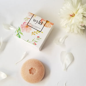Konjac Exfoliating Sponge- French Pink Clay
