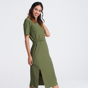 Sheath Dress- Olive
