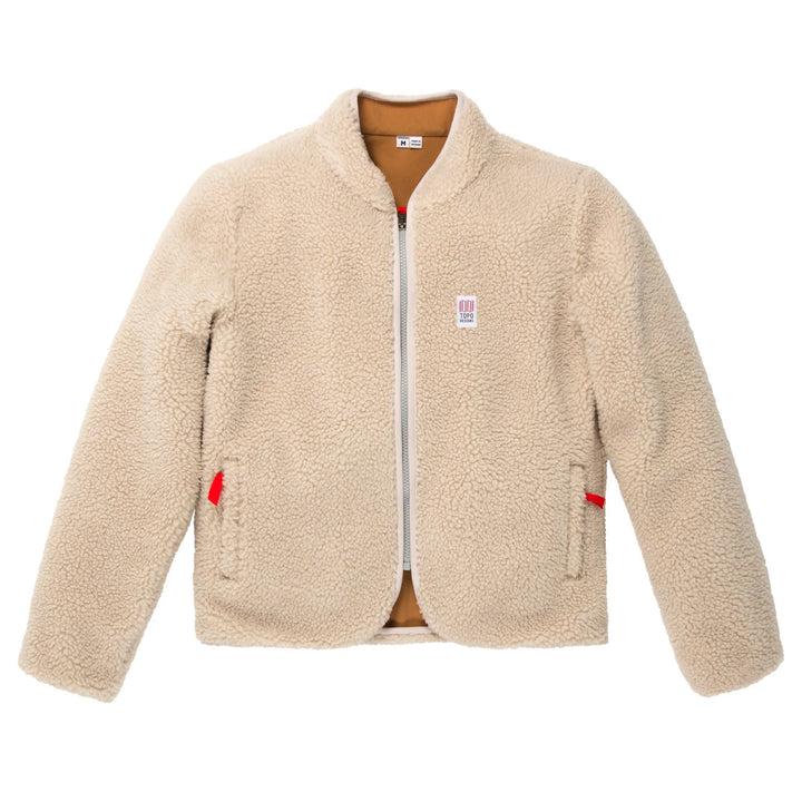 Reversible Sherpa Fleece Jacket