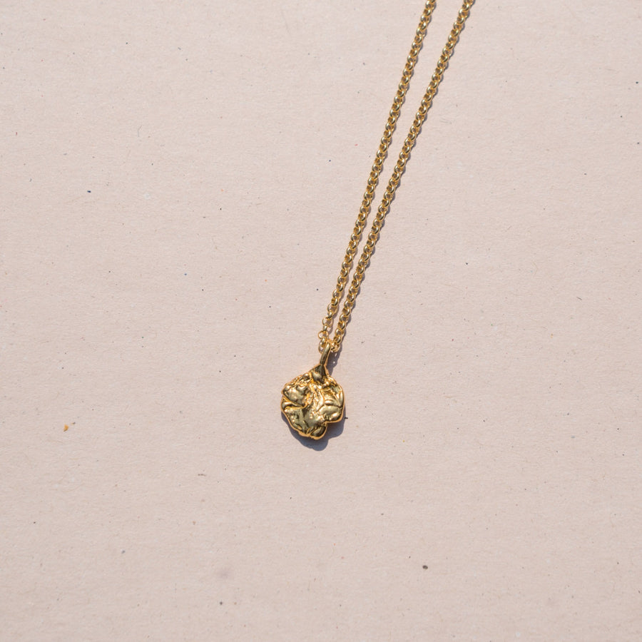 La Mer Necklace- 14K Gold Vermeil