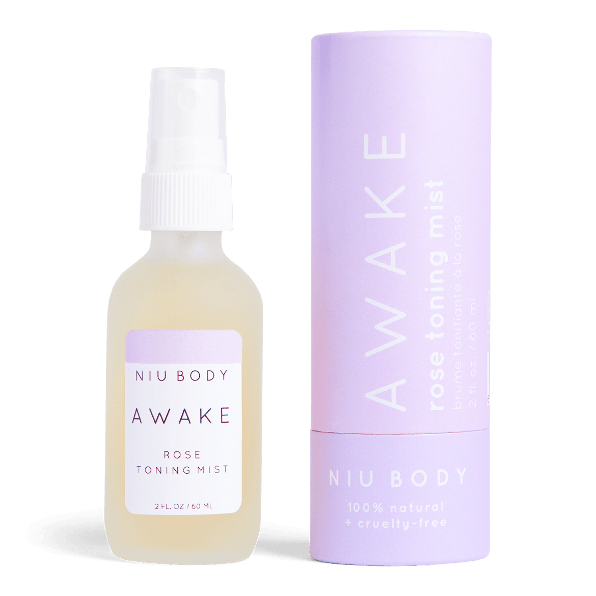 Awake Rose Toning Mist (2 oz)