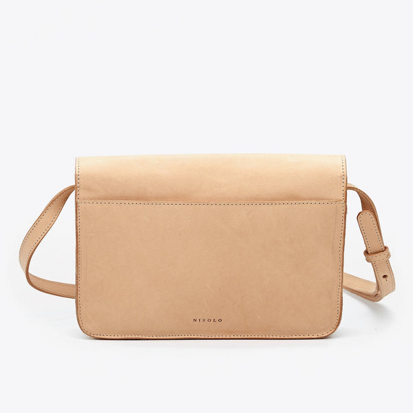 Clara Crossbody Bag- Natural Vachetta