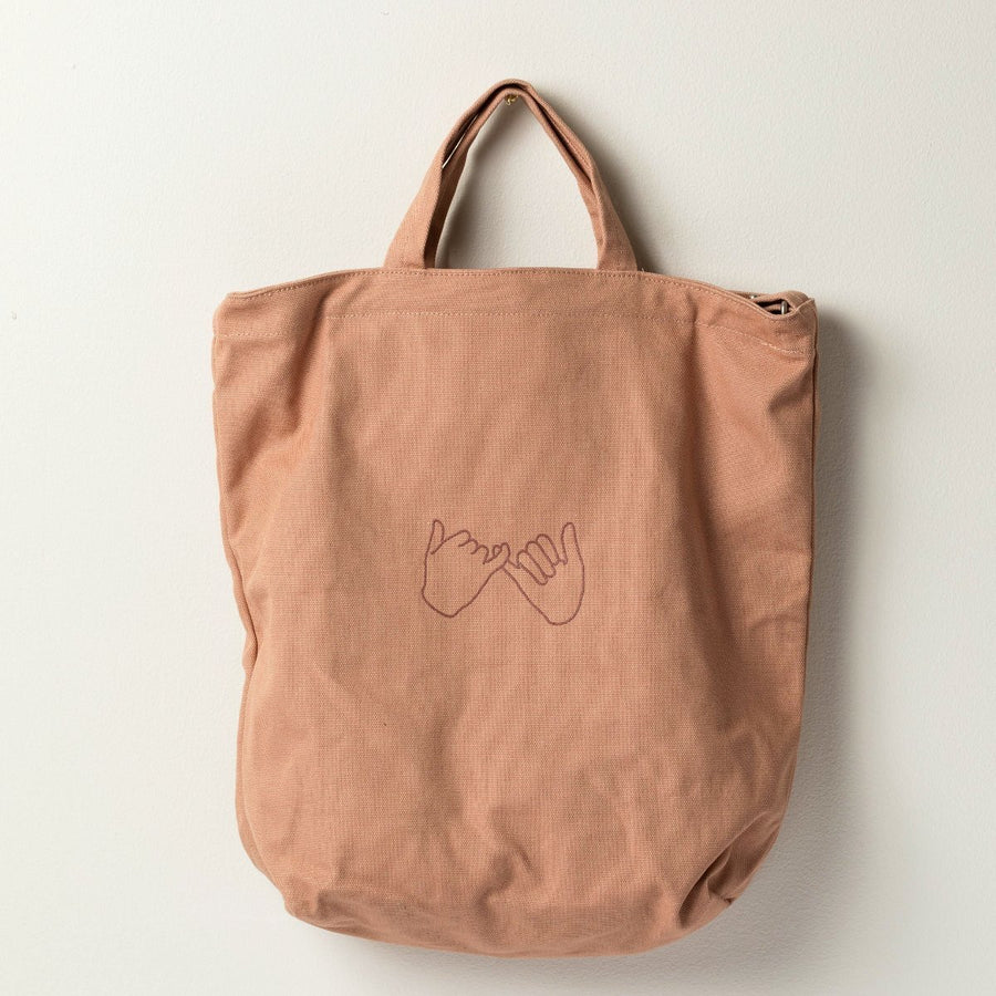 Confidants Duck Canvas Tote- Canyon