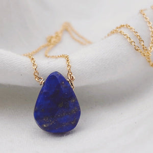 Lapis Gemstone Necklace