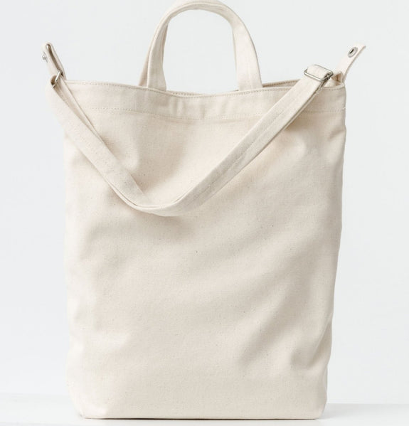 Duck Canvas Bag- Natural