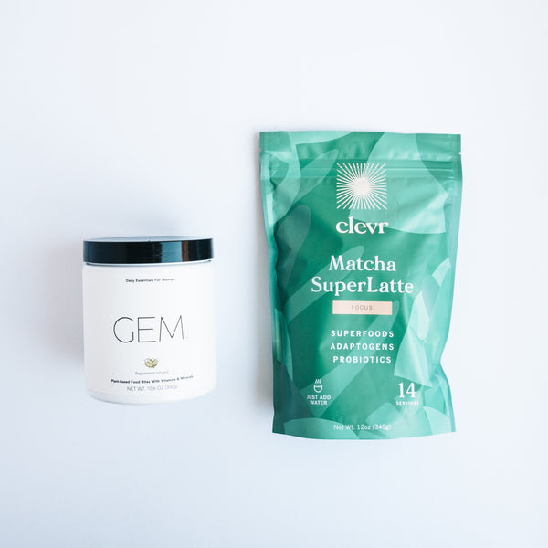 AM Daily Ritual Kit - Matcha + GEM Vitamins